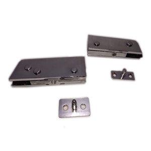 Kit dobradiças para porta de vidro pivotante blindex - sistema invertido