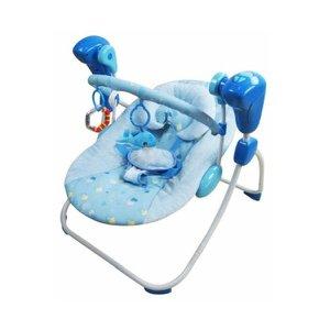 Cadeirinha de Balanço Swing Azul Color Baby
