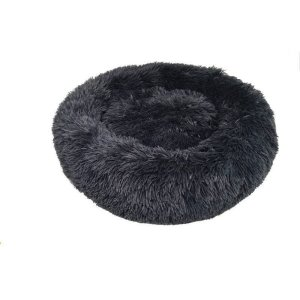 Cama para Pet em pelúcia tamanho médio Jambo cor cinza