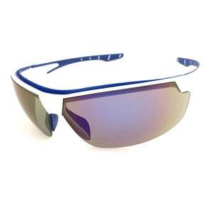 Óculos De Proteção Steelflex Anti Embaçante Tático Bike Moto Neon AZUL ESPELHADO Ca 40906 Epi