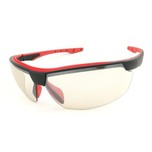Óculos Proteção Esportivo Neon Militar Balistico IN-OUT INCOLOR ESPELHADO