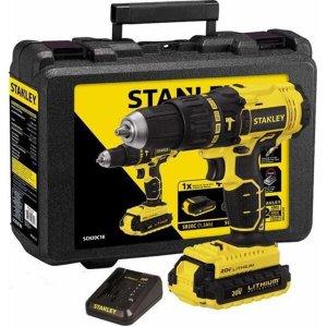 Furadeira Parafusadeira de Impacto Stanley SCH20C2K 20 Volts