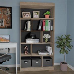 Estante para Livros 4 Prateleiras HO-2907 Home Office Espresso Móveis