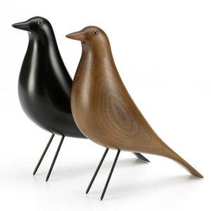 Pássaro Eames House Bird Design Kit 2 Unid. Preto + Walnut