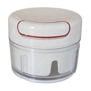 Mini Processador Triturador de Alimentos Manual 3 Laminas