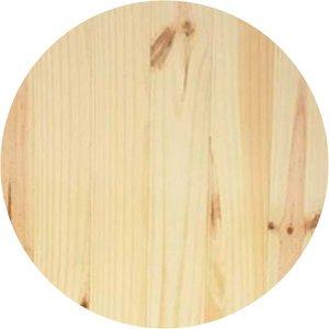 Placa De Pinus 50x50cm Redonda Disco Madeira