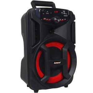 Caixa Amplificada Gigante Usb, Sd, Bluetooth, Led 180w Amvox