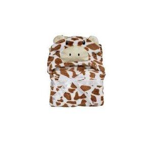 Cobertor Baby Com Capuz Daju Girafa Rafa