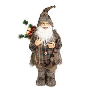 Papai Noel Montanhês Luxo com 60cm de Altura  Linha Natal Encantado Formosinha