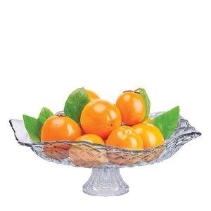 Saladeira com Pé - Fruteira em Vidro Gourmet Ruvolo