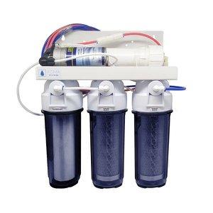 Filtro Osmose Reversa+Deio +Bomba Pressurizada 100Gpd com Nfe Transparente + Brinde - N/A