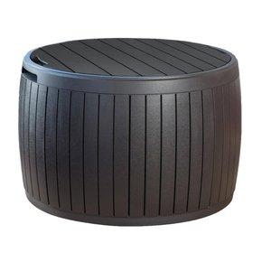 BAÚ Circa Wood Box Marrom Keter