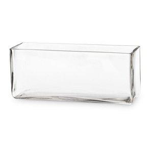 Vaso de Vidro Retângular M