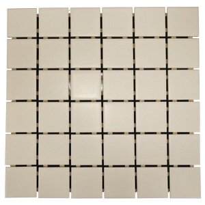 Pastilha de Porcelana Ritmo Amêndoa Acetinado 5x5 01m²