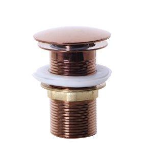 Válvula Click para Cubas Inox 40mm Rosê Gold