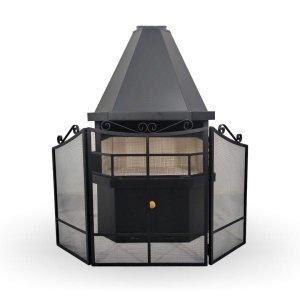 Tela de Proteção de Lareira - TR16031