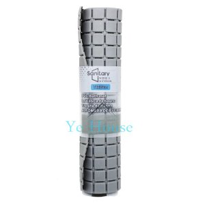 Tapete Banheiro Antiderrapante Ventosa Box Chuveiro Banho PVC CINZA