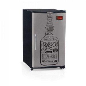 Cervejeira Porta com Adesivo 120L Profissional Gelopar 127V
