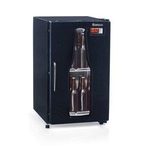 Cervejeira Porta de Vidro com LED 120L Profissional Gelopar 220V
