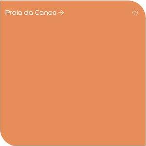 Tinta Acrílica Premium Decora 3,2L Coral Laranja - Praia da Canoa