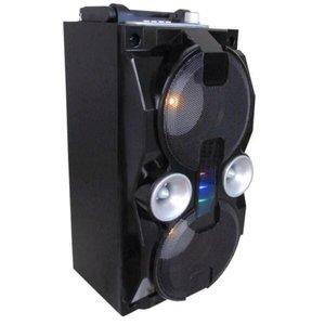 Caixa De Som Portátil Bluetooth Usb Potente Amplificada 2807