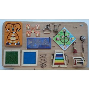 Painel Psicomotor Sensorial e Musical Fashion Toys