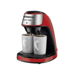 Cafeteira Mondial Smart Coffee C-42-2X-RI 127V - Vermelho