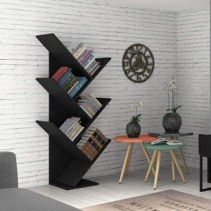Estante para Livros Diagonal Spine Espresso Móveis