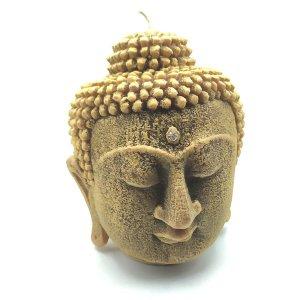 Vela Cabeça de Buda com Cristal Swarovski (22cm)