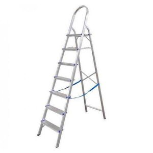 Escada Aluminio Real 7d Domestica