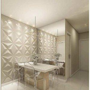 Revestimento 3D para parede Ilove3d Estrelar 6m²