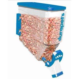 Dispenser Individual para Ração 40 litros Durabox Azul