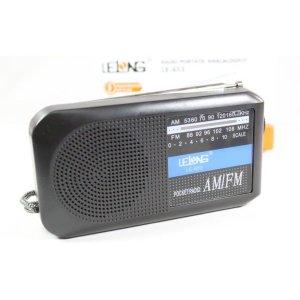 Rádio Analógico Retrô AM/FM Lelong LE-653