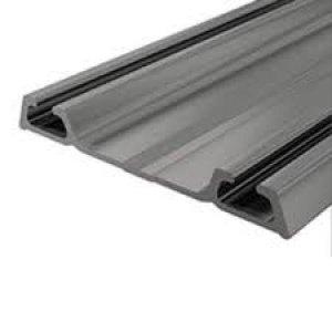 Trilho Alumínio Inferior Rm-022 15Mm Inox Matte Esc - 6 Metros