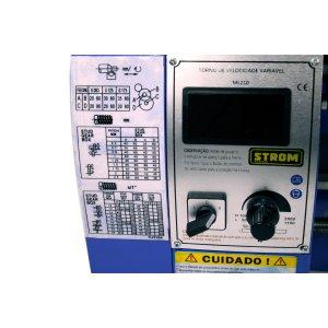 Torno Mecânico de Bancada 350mm ML210 -220v- STROM