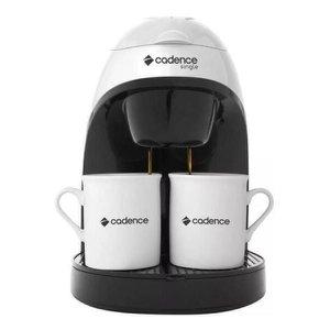 Cafeteira Single Eletrica Branca + 2 Xicaras - Cadence 220V