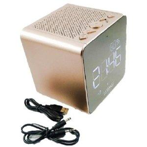 Rádio Relógio Despertador Digital Fm Le-673