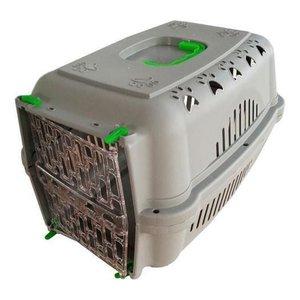 Caixa De Transporte Durapets Falcon Neon Verde Nº3