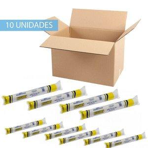 Papel Lençol Bobina de 70cm X 50 Metros Caixa 10 Unidades - Premium