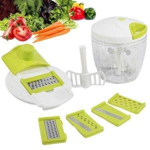 Processador Manual de Alimentos Triturador instantâneo