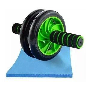 Roda De Exercícios Abdominal Lombar Define Musculatura Cross
