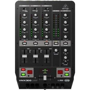 Mixer DJ 110V - VMX300USB - Behriger