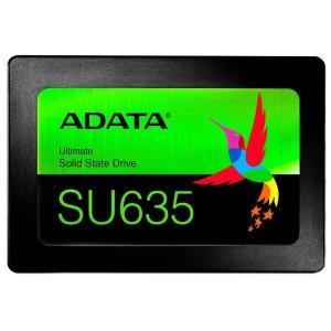 SSD 480GB Adata SU635 - Leitura 520 MB/s - Gravação 450MB/s - NAND 3D QLC - ASU635SS-480GQ-R