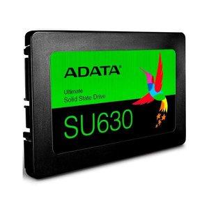 SSD 960GB Adata SU630 - Leitura 520 MB/s - Gravação 450MB/s - QLC 3D NAND - ASU630SS-960GQ-R
