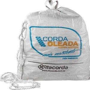 CORDA POLIESTER 08MM OLEADA PRETA-200MT - IT48002 SC COM 1 SC