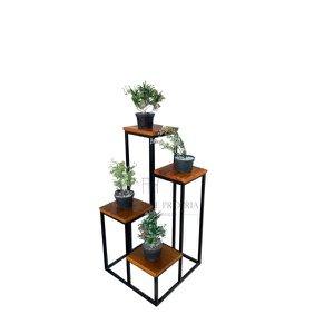 Suporte estante floreira em ferro decorativa para sala quarto jardim objeto de decoração enfeite