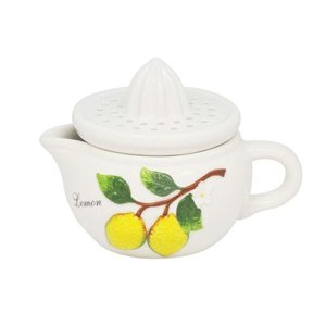 Espremedor De Cerâmica Lemons 15X11X10Cm