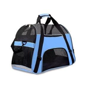 Bolsa Transporte Pet Para Cabine Avião - Azul