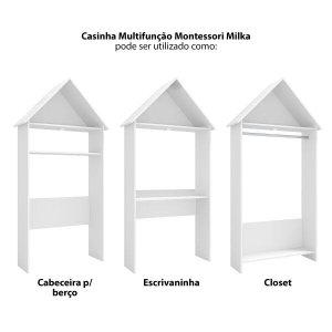 Casinha Multifunção Montessori Milka Móveis Estrela