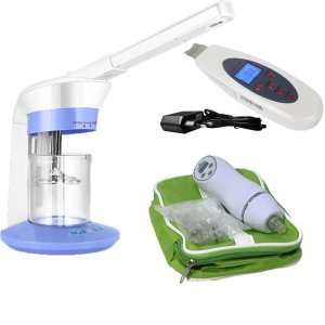 Kit Vapor Ozônio 110V Peeling Ultrassônico Peeling Diamante